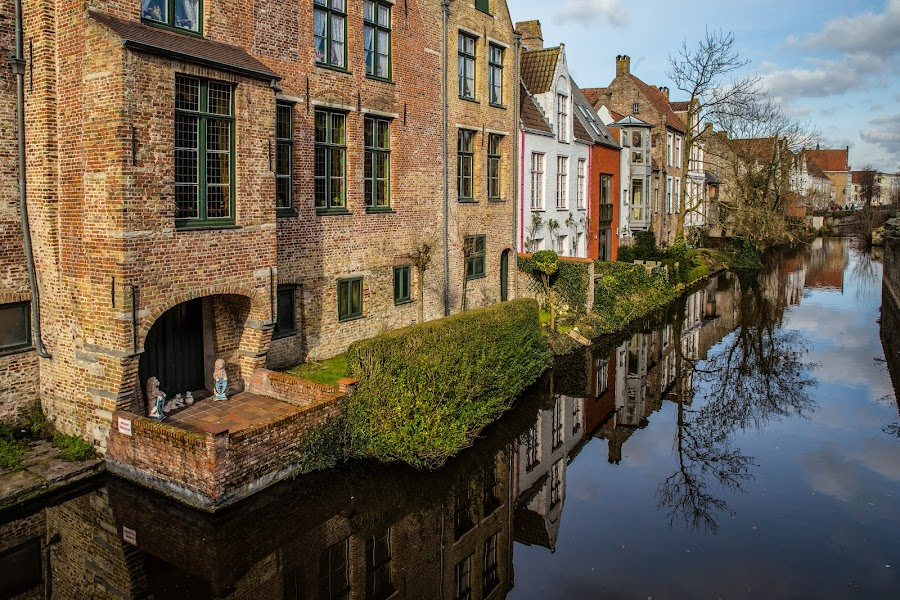 Bruges IV by Pascal Hubert - City,  Street & Park  Neighborhoods