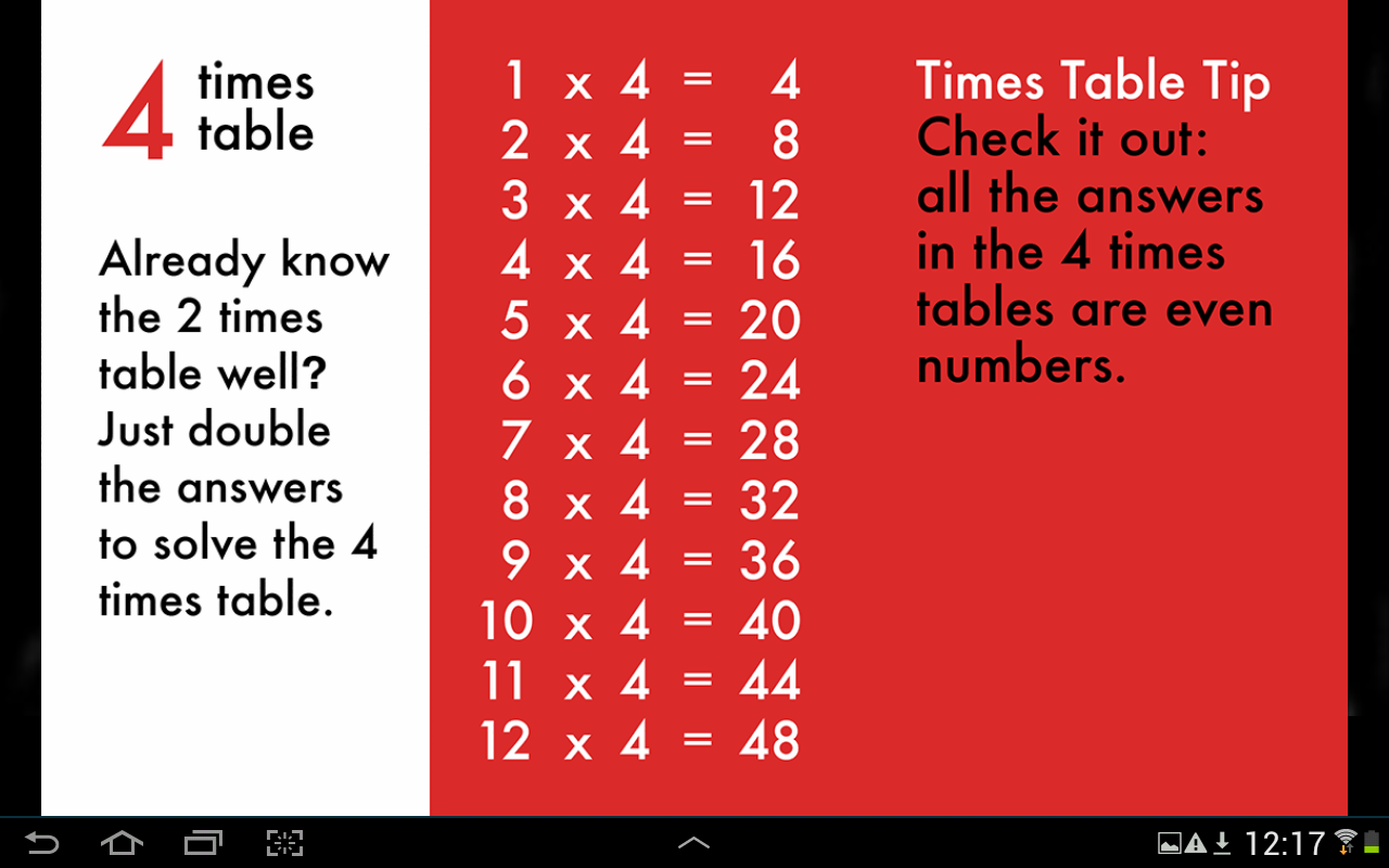 10 minutes a day times tables android apps on google play 10 minutes a day times tables screenshot gamestrikefo Image collections