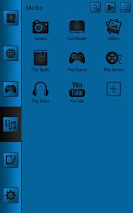 【免費個人化App】Smart launcher theme SoftBlue-APP點子
