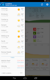 Pocket Weather Australia- screenshot thumbnail
