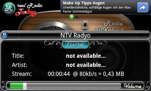 real Radio Turkey - screenshot thumbnail