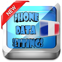 France Phone Data Settings icon