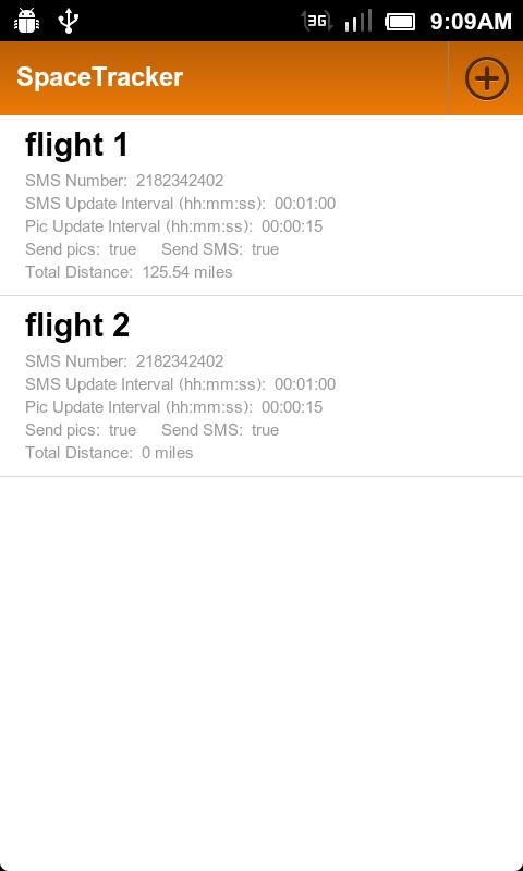 SpaceTracker- screenshot