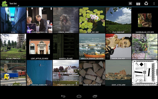 RawDroid Pro app for Android screenshot