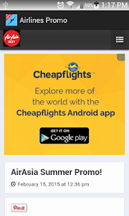 Airlines Promo- screenshot thumbnail