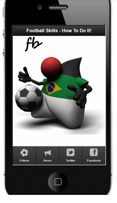 Football Skills Tips & Tricks - screenshot