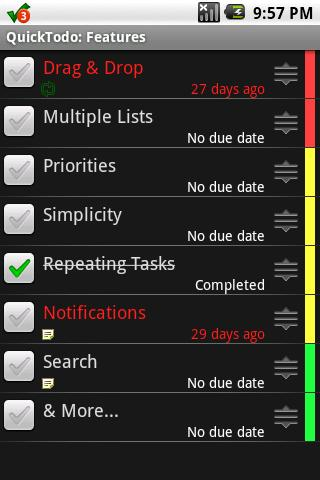 QuickTodo - screenshot