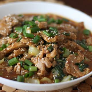 Sesame Pork Recipe