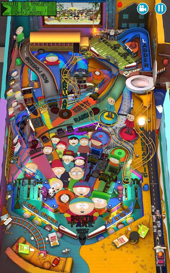 South Park™: Pinball: captura de pantalla