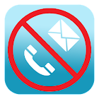 SMS blocker, call blocker icon