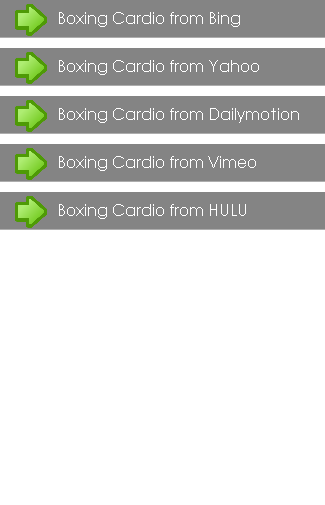 Boxing Cardio Exercises