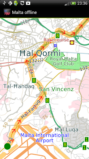 Malta offline map