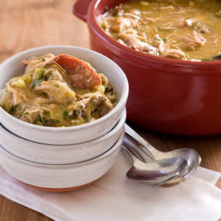 Chicken, Andouille, and Oyster Gumbo.