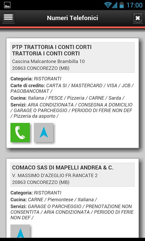 Numeri Telefonici- screenshot