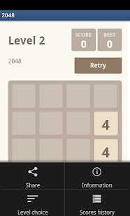 2048 HD - The Best Puzzle Game- screenshot thumbnail