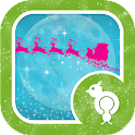 Sparkly Christmas Eve GO Lock icon