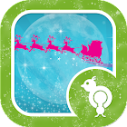 Sparkly Christmas Eve GO Lock icon