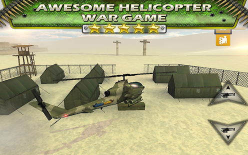 Helicopter Battle Parking Sim