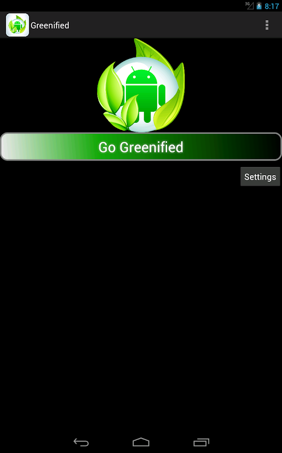 Greenified - Save your Battery- screenshot