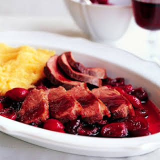 Duck With Cherries In Chianti.