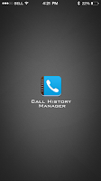 Screenshot of Call History Manager