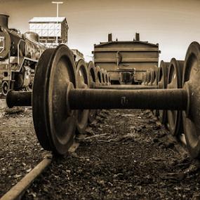 Forgotten Era by Stephen Fouche - Transportation Railway Tracks