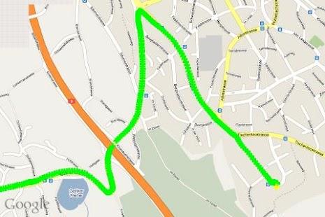 u-center GPS evaluation App- screenshot thumbnail