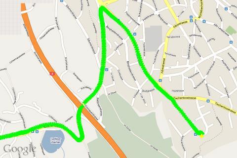 u-center GPS evaluation App- screenshot