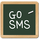 chalk board GO SMS theme icon