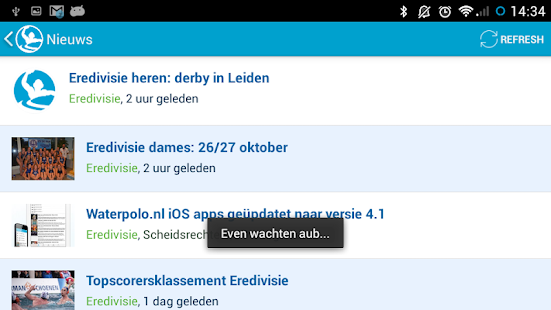 Waterpolo.nl - screenshot thumbnail