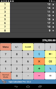 Tape Calculator Pro - screenshot thumbnail