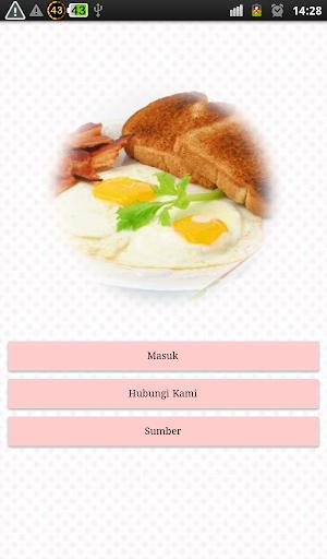Resep Sarapan Pagi Praktis