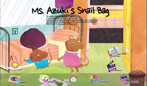 Ms. Azuki's Snail Bag