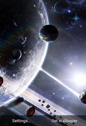太空和行星动态壁纸