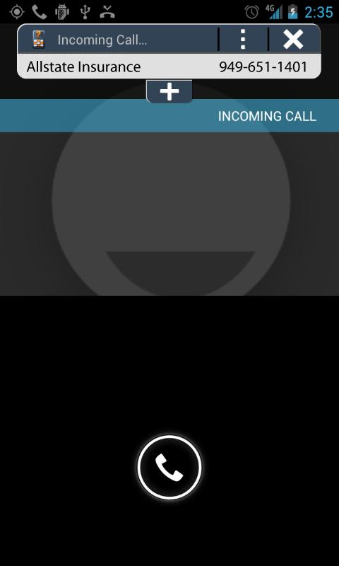 WhoAreYou Caller ID + Blocker - screenshot