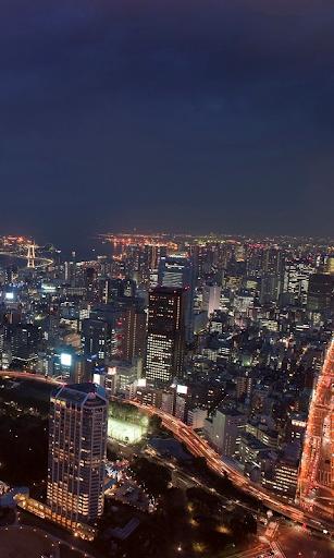 Los rascacielos de Tokio
