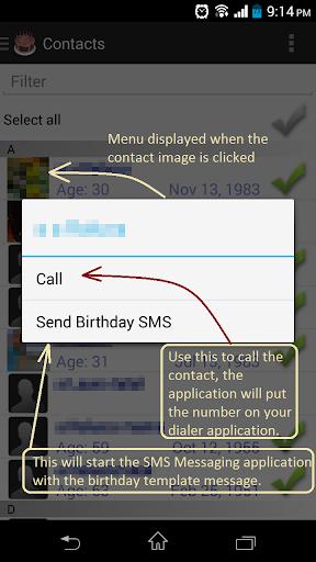 Birthday Reminder Generator