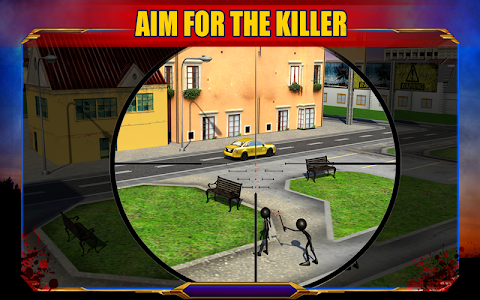 Stickman Sniper Shooting 3D v1.0