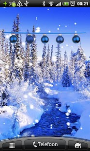 Christmas Decoration Blue- screenshot thumbnail