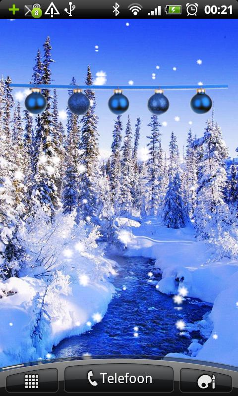 Christmas Decoration Blue - screenshot