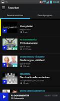 Screenshot of Sveriges Radio Play