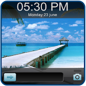Beach Go Locker EX Theme