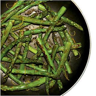 Quick Skillet Asparagus.