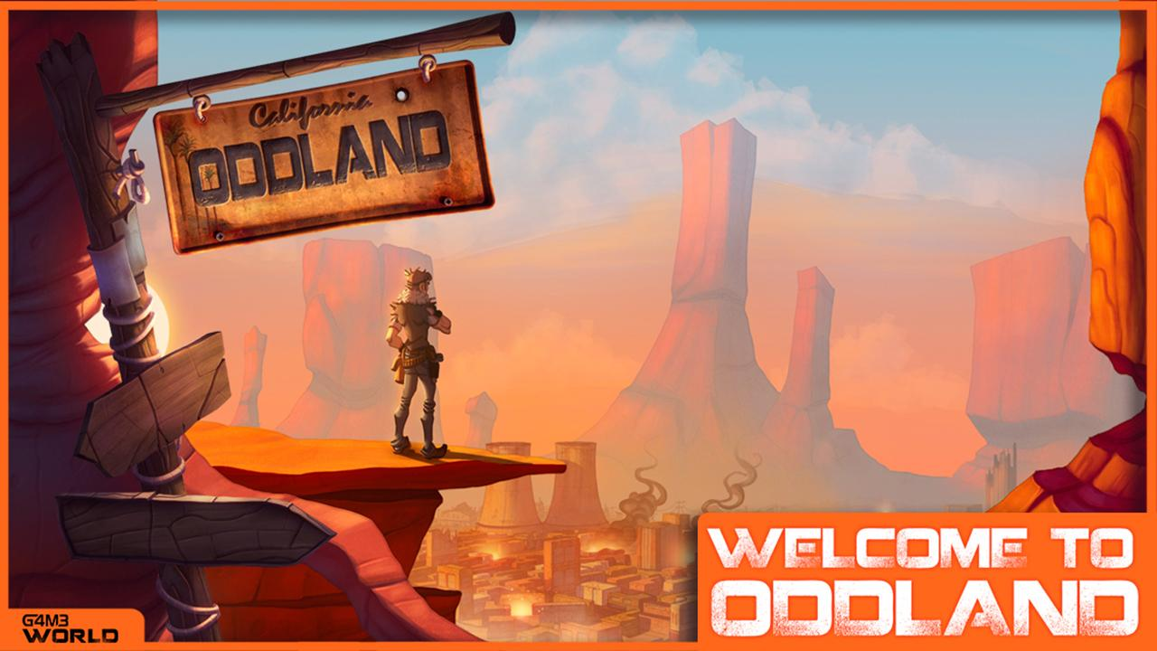 Oddland- screenshot