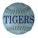 Simple Detroit Tigers Schedule logo