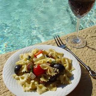 Pool Party Pasta Salad