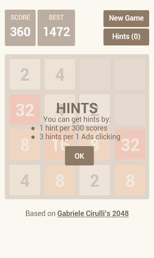 玩解謎App|2048 (with HINTS)免費|APP試玩