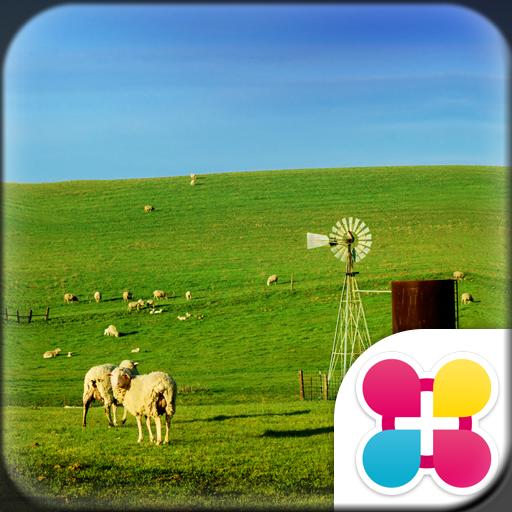 Sheep Wallpaper Blue Sky Farm Icon