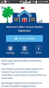 Student Registration- screenshot thumbnail