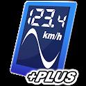 GPS Speed Graph PLUS logo